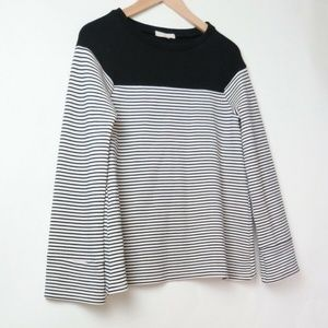 Sula wool blend natuical top S